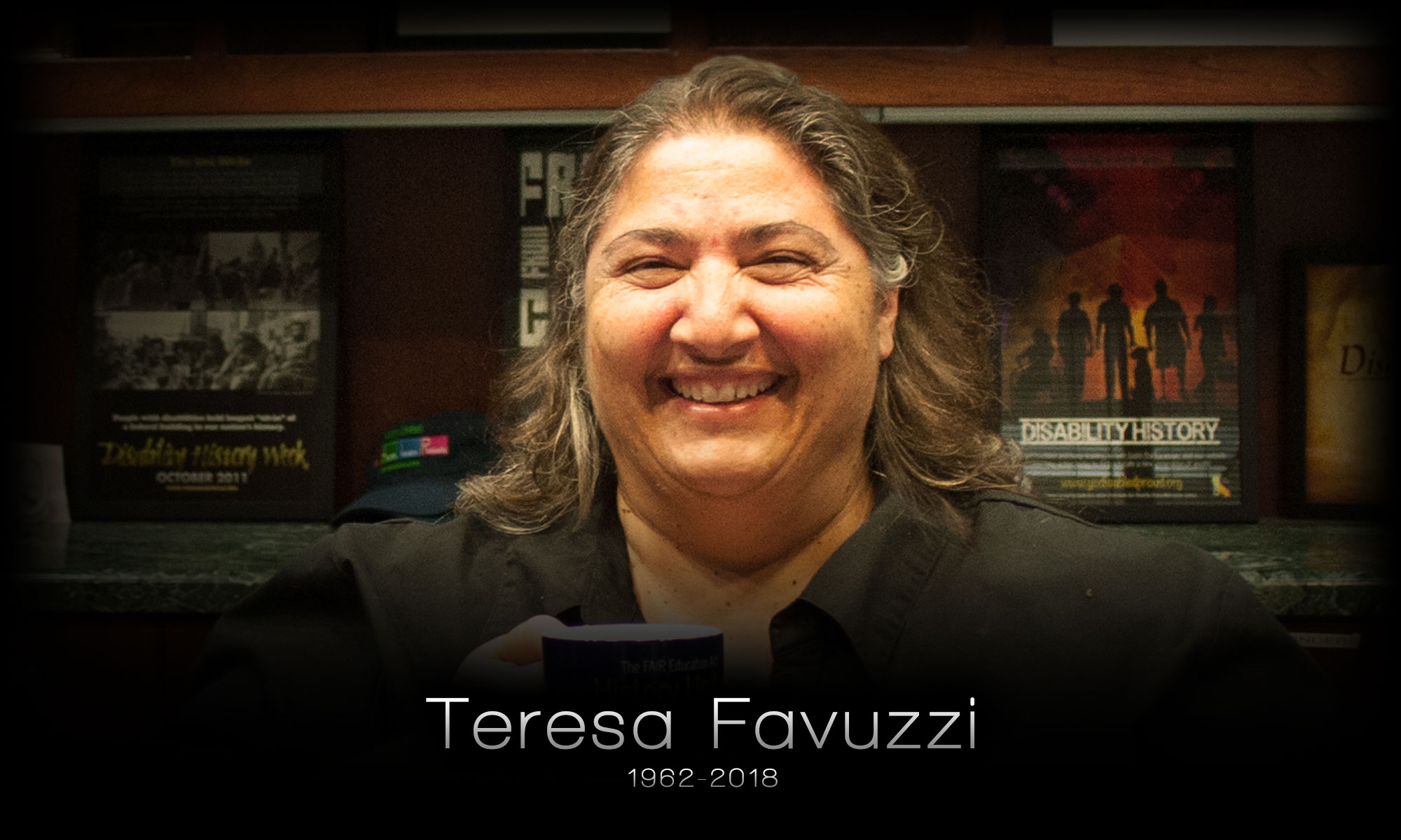 Photo of Teresa Favuzzi (1962-2018)